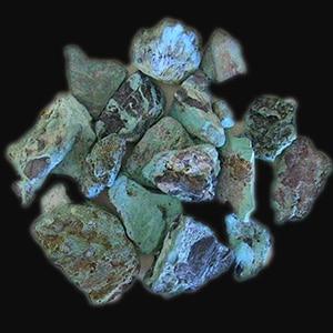 Blue Diamond Rough Turquoise
