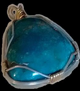 Chrysophrase Pendant