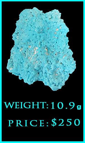 m Kingman Turquoise 10.9