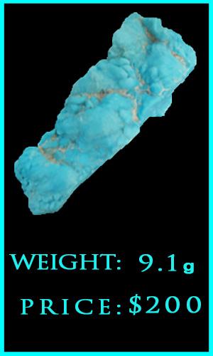 m Kingman Turquoise 9.1